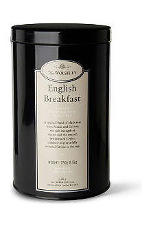 THE WOLSELEY English breakfast loose tea tin