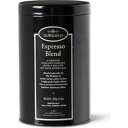 THE WOLSELEY Espresso blend tin 250g