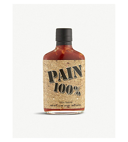 ORIGINAL JUAN SPECIALITY FOODS Pain 100% hot sauce 210g