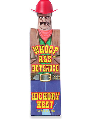 WHOOP ASS Hickory Heat hot sauce 142g