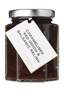 SELFRIDGES SELECTION Caramelised red onion and balsamic relish 190g