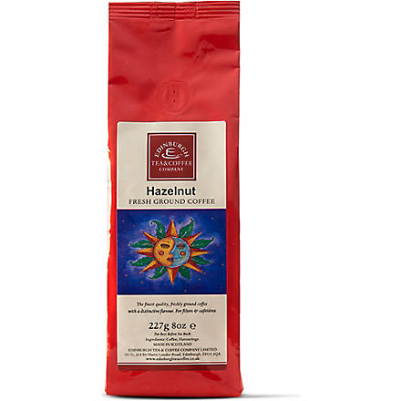 EDINBURGH TEA & COFFEE COMPANY Hazelnut flavoured coffee 227g