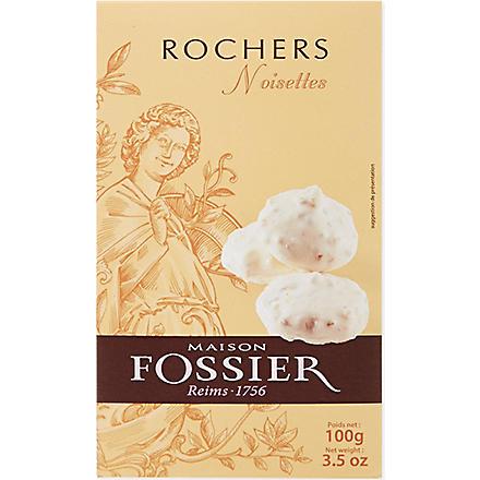 FOSSIER Hazelnut rochers 100g