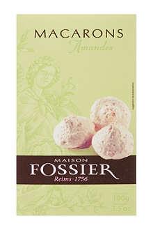 FOSSIER Almond macaroons 100g