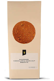 SELFRIDGES SELECTION Chocolate and hazelnut biscuits 200g