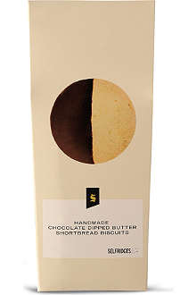 SELFRIDGES SELECTION Chocolate dipped shortbread 200g