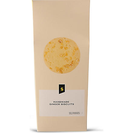 SELFRIDGES SELECTION Ginger biscuits 200g