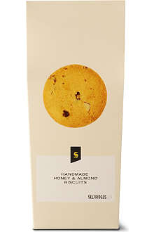 SELFRIDGES SELECTION Honey and almond shortbread 200g