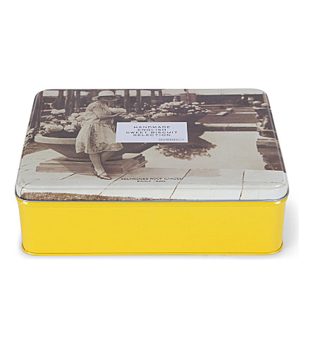 SELFRIDGES SELECTION Sweet biscuit selection 576g