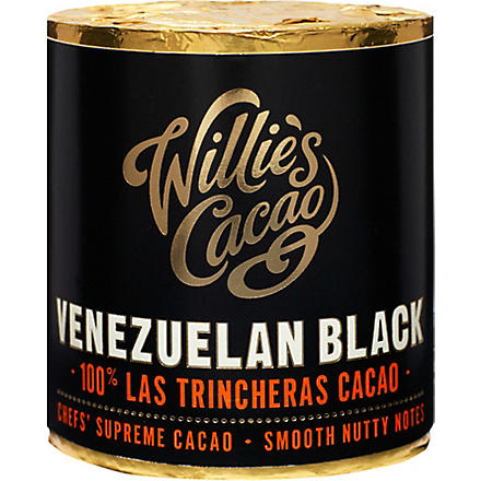 WILLIES Venezuelan Black Hacienda las Trincheras pure cacao 180g