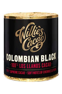 WILLIES Colombian Black Santander Supreme pure cacao 180g