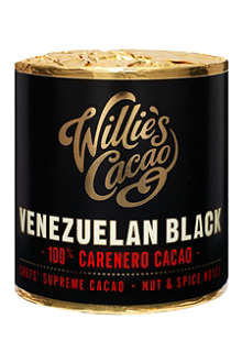 WILLIE'S CACAO Venezuelan Black Carenero Superior pure cacao