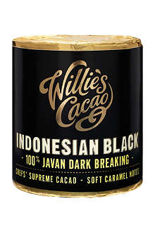 WILLIE'S CACAO Indonesian Black pure cacao 180g
