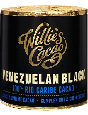 WILLIES Venezuelan Black Rio Caribe cacao 180g