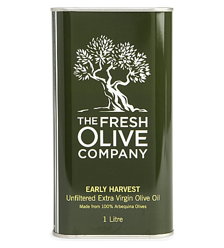 THE FRESH OLIVE COMPANY Early Harvest Arbequina olive oil 1L