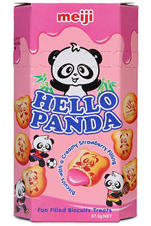 MEIJI Hello Panda strawberry biscuits 57.5g