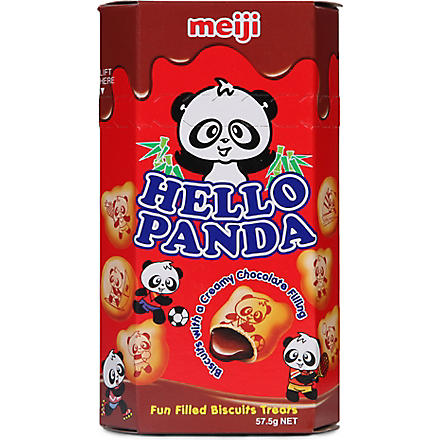 MEIJI Hello Panda chocolate biscuits 57.5g