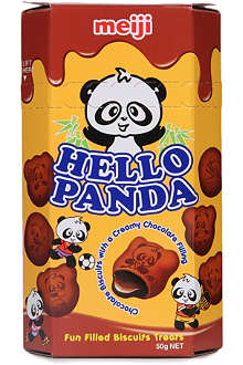MEIJI Hello Panda double chocolate biscuits 57.5g
