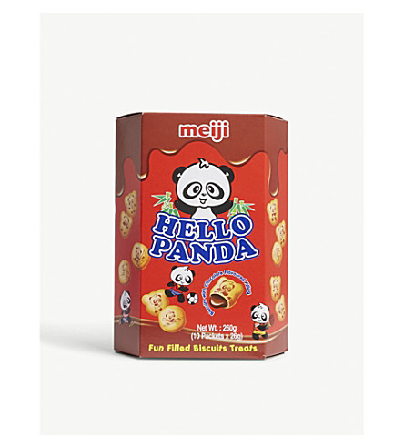 BISCUITS Hello Panda chocolate biscuits 260g