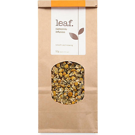 LEAF Camomile infusion loose leaf tea 50g