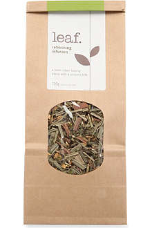 LEAF Refreshing infusion loose leaf tea 100g