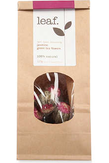 LEAF Jasmine green tea flowers 125g