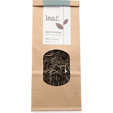 LEAF Organic white loose leaf tea 50g