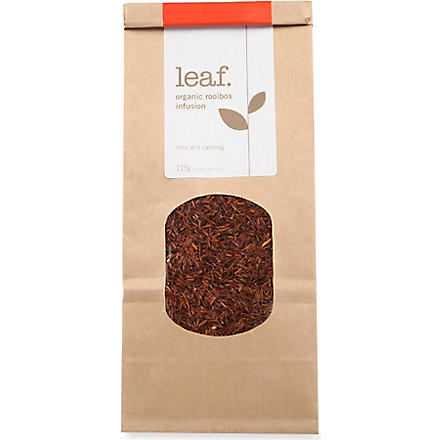 LEAF Organic rooibos infusion loose leaf tea 125g