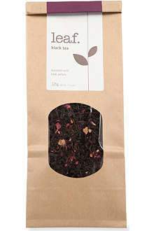 LEAF Rose black loose leaf tea 125g