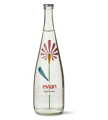EVIAN Issey Miyake natural mineral water