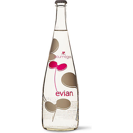 EVIAN Evian Courrèges limited edition 750ml