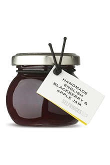 SELFRIDGES SELECTION Blackberry and apple jam 110g