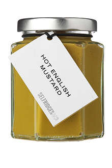 SELFRIDGES SELECTION Hot English mustard 180g