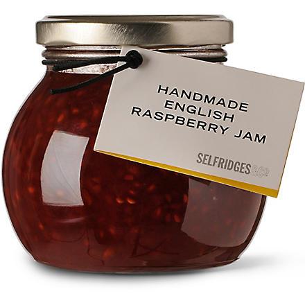SELFRIDGES SELECTION Handmade English raspberry jam 340g
