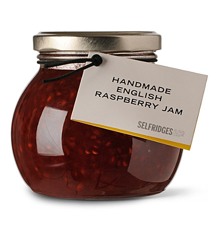 SELFRIDGES SELECTION Handmade English raspberry jam 340g