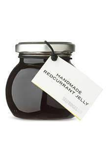 SELFRIDGES SELECTION Redcurrant orange jelly 220g