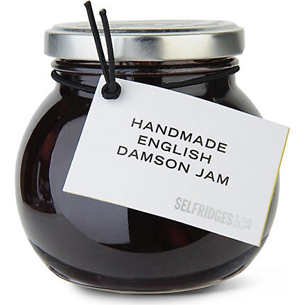 SELFRIDGES SELECTION Damson jam 340g