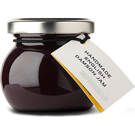 SELFRIDGES SELECTION Mini damson jam 110g