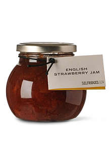 SELFRIDGES SELECTION English strawberry jam 340g