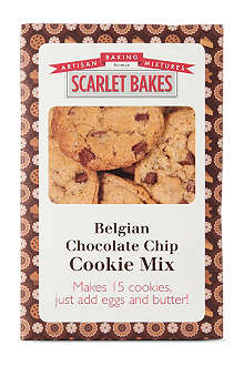 SCARLET BAKES Belgian chocolate chip cookie mix 425g