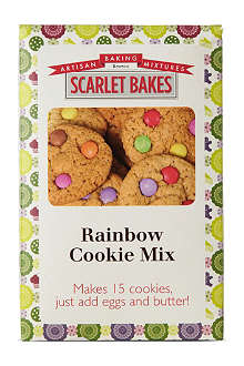 SCARLET BAKES Rainbow cookie mix 425g