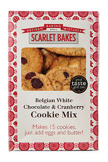 SCARLET BAKES White chocolate cranberry cookie mix 425g