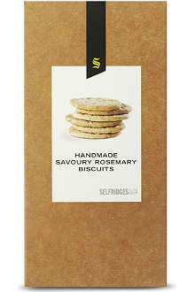 SELFRIDGES SELECTION Rosemary biscuits