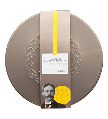 SELFRIDGES SELECTION Savoury biscuit selection 400g