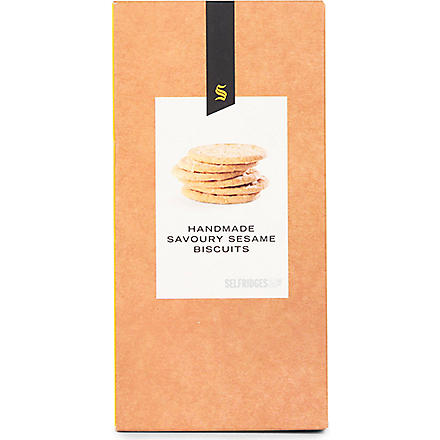 SELFRIDGES SELECTION Sesame savoury biscuits 150g
