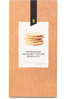 SELFRIDGES SELECTION Thyme savoury biscuits 150g