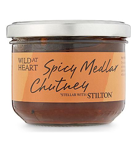 WILD A H Spicy medlar chutney 245g