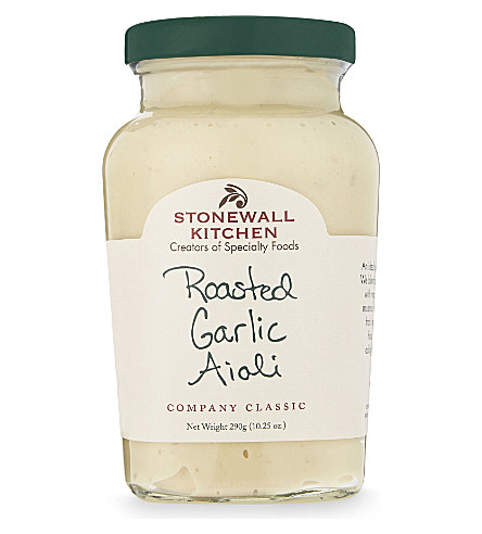 CONDIMENTS & PRESERVES Roasted garlic aioli 290g