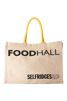 OWN LABEL Selfridges Foodhall Reuse-Me-Instead bag