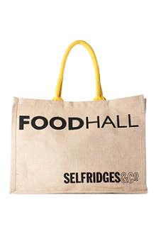 OWN LABEL Selfridges Foodhall Reuse-Me-Instead bag